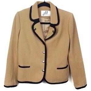 Vintage 70s JH Collectibles Wool Blend Blazer